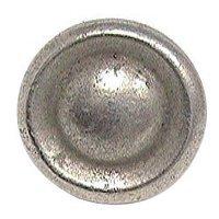 Emenee - Classics - Single Concave Ring Dome Knob in Antique Matte Silver
