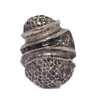 Emenee - Elements - Stipple Knob in Antique Bright Silver