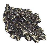 Emenee - Bloom - Oak Leaves Knob in Antique Bright Silver