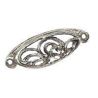 Emenee - Bloom - Elegant Pull in Antique Bright Silver