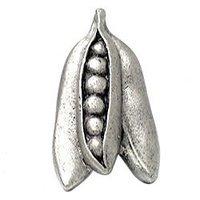 Emenee - Harvest - Peas Knob in Warm Pewter