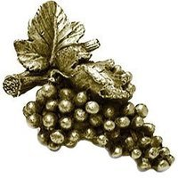Emenee - Harvest - Grapes Knob in Aged Brass