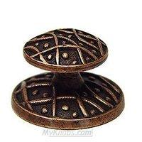 Emenee - Medici - Weave Knob in Aged Brass