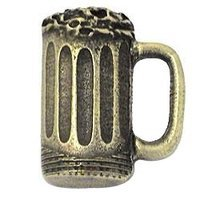 Emenee - Cocktail Hour - Beer Mug Knob in Aged Brass