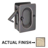 Emtek Hardware - Door Accessories - Passage Pocket Door Lock in Flat Black