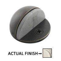 Emtek Hardware - Door Accessories - Half Dome Door Stop in Flat Black