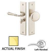 Emtek Hardware - Door Accessories - Left Hand Rectangular Style Screen Door Lock in Flat Black