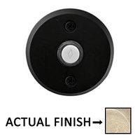 Emtek Hardware - Door Accessories - Illuminated Door Bell in Flat Black Bronze