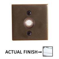 Emtek Hardware Door Accessories Illuminated Square Bell In Oil Rubbed Bronze