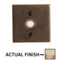 Emtek Hardware - Door Accessories - Illuminated Square Door Bell in Oil Rubbed Bronze