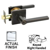 Exceptional Emtek Hardware   Keyed Knobs And Levers Hardware   Keyed Right Handed  Helios Lever With Square