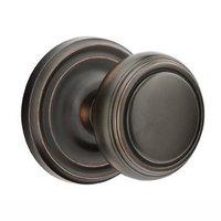 Emtek Hardware - Brass Classic Hardware - Privacy Norwich Door Knob With Regular Rosein Oil Rubbed Bronze