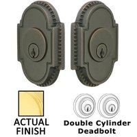 Emtek Hardware - Solid Brass Deadbolts - Knoxville Single Cylinder Deadbolt in Oil Rubbed Bronze