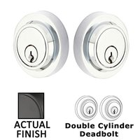 Emtek Hardware - Solid Brass Deadbolts - Modern Single Cylinder Deadbolt in Oil Rubbed Bronze