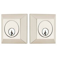 Emtek Hardware - Solid Brass Deadbolts - Quincy Single Cylinder Deadbolt in Oil Rubbed Bronze