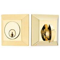 Emtek Hardware - Solid Brass Deadbolts - Quincy Single Cylinder Deadbolt in Oil Rubbed Bronze