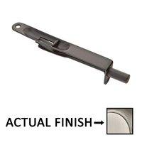 "Emtek Hardware - Door Accessories - 6"" Flush Bolt with Radius Corners in Medium Bronze"