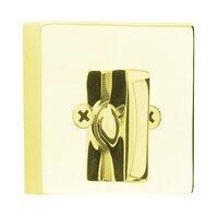 Emtek Hardware - Solid Brass Deadbolts - Square Single Cylinder Deadbolt in Oil Rubbed Bronze