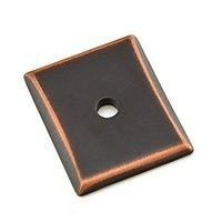 "Emtek Hardware - Curvilnear - 1 1/4"" (32mm) Neos Back Plate for Knob in Oil Rubbed Bronze"