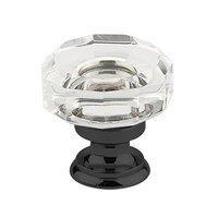 "Emtek Hardware - Crystal - 1 3/8"" Diameter Lowell Knob in Oil Rubbed Bronze"