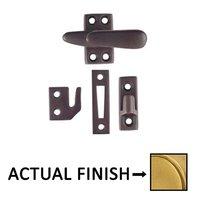 Emtek Hardware - Door Accessories - Casement Latch Standard With 3 Strikes in Oil Rubbed Bronze