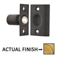 Emtek Hardware - Door Accessories - Ball Roller Catch in Flat Black