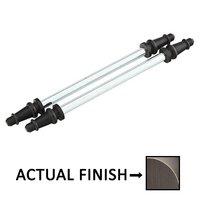 """Emtek Hardware - Door Accessories - Steeple Tip Set For 4-1/2"""" Heavy Duty Or Ball Bearing Steel Hinge in Flat Black"""