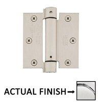"Emtek Hardware - Door Accessories - 3 1/2"" x 3 1/2"" Square UL Steel Spring Hinge in Polished Brass"