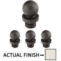"Emtek Hardware - Door Accessories - Ball Tip Set For 4-1/2"" Heavy Duty Or Ball Bearing Solid Brass Hinge in Lifetime Brass"