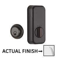 Emtek Hardware - EMPowered Deadbolts - Empowered Rope Single Cylinder Deadbolt Connected by August in Oil Rubbed Bronze