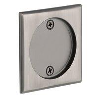 Emtek Hardware - Tubular Pocket Door Hardware - Tubular Square Dummy Pocket Door Hardware in Flat Black