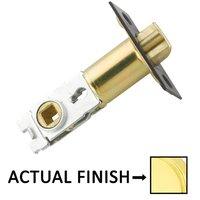"Emtek Hardware - Door Accessories - Key In Latch with 2 3/8"" Backset in Polished Brass"
