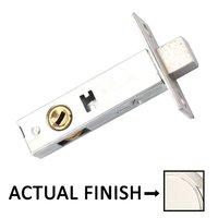"Emtek Hardware - Door Accessories - Privacy Thumbturn Latch with 2 3/8"" Backset in Polished Brass"