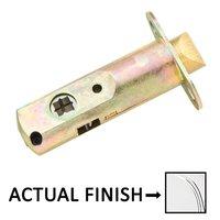 "Emtek Hardware - Door Accessories - Passage 28 Degree Rotation Latch with 2 3/8"" Backset in Polished Brass"