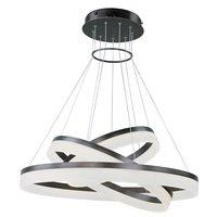ET2 Lighting - Saturn - Saturn 3-Tier LED Pendant in Bronze