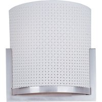ET2 Lighting - Clearance - Elements 2-Light Wall Sconce in Satin Nickel