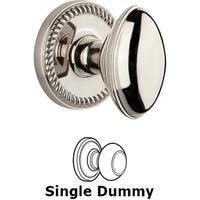 Grandeur Door Hardware - Newport - Privacy Knob - Newport Rosette with Eden Prairie Door Knob in Satin Nickel