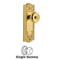 Grandeur Door Hardware - Parthenon - Grandeur Parthenon Plate Privacy with Bouton Knob in Satin Nickel