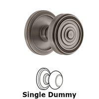 Grandeur Door Hardware - Circulaire - Grandeur Circulaire Rosette Privacy with Soleil Knob in Satin Nickel