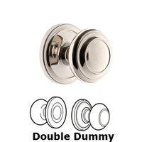Grandeur Door Hardware - Circulaire - Grandeur Circulaire Rosette Privacy with Circulaire Knob in Satin Nickel