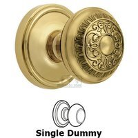 Grandeur Door Hardware - Georgetown - Privacy Knob - Georgetown Rosette with Windsor Door Knob in Satin Nickel