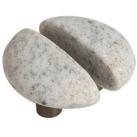 Michigan Naturals - Winter Morning Stone - Split Small Perfect Pair Knobs in Winter Morning