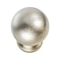 "Hafele Hardware - Elemental - 3/4"" Diameter Knob in Nickel Matte"