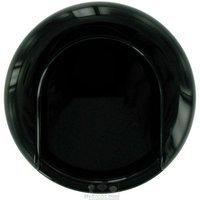 "Hafele Hardware - HEWI Nylon Pull - Mortise 2 3/4"" Recessed Pull in Black"