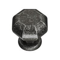 "Hafele Hardware - Zelda - 1 17/16"" Octagon Knob in Oil Rubbed Bronze"