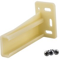 Hardware Resources - Builder Hardware - Retail Rear Bracket Pack for 5000 Series Epoxy Slides in White