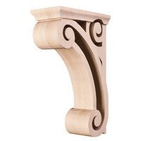Hardware Resources - Corbels and Bar Brackets - Open Space Traditional Corbel in Maple Wood