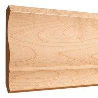 """Hardware Resources - Crown Mouldings - 5-1/2"""" x 11/16"""" Standard Crown Moulding in Oak Wood (8 Linear Feet)"""