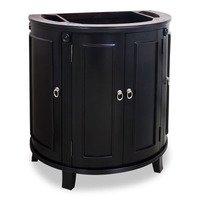 """Jeffrey Alexander - Small Bathroom Vanities - 31"""" Bathroom Vanity in Espresso"""