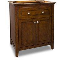 """Jeffrey Alexander - Small Bathroom Vanities - Vanity 29-11/16"""" x 21-7/8"""" in Chocolate"""
